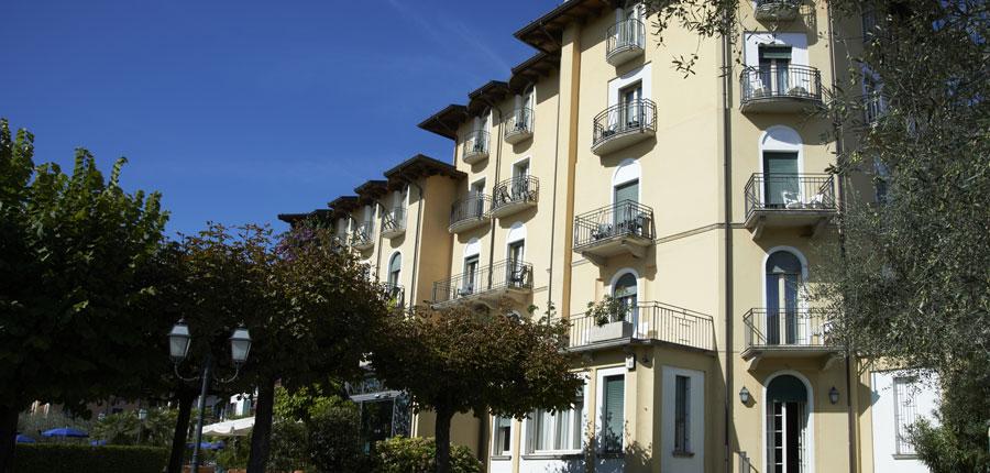 Chalet Hotel Galeazzi, Gardone Riviera, Lake Garda, Italy - entrance.jpg